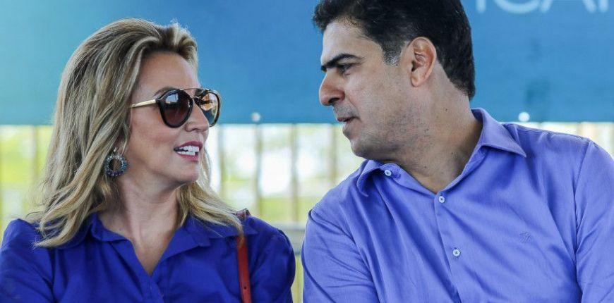 Justiça bloqueia R$ 16 milhões de Emanuel Pinheiro, Márcia e mais 3 pessoas (Crédito: Reprodução)