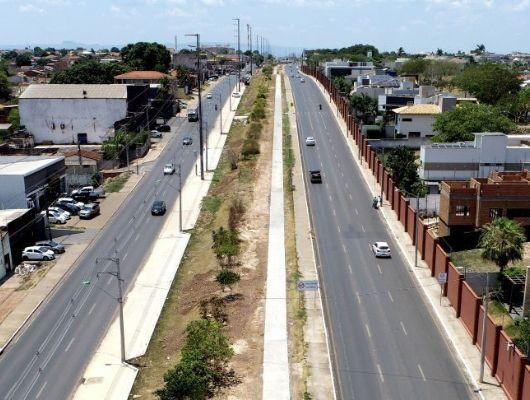 Cuiabá anuncia construção de ciclovia e vagas de estacionamento na ''Avenida dos Trabalhadores'' (Crédito: Luiz Alves/Assessoria - Cuiabá)