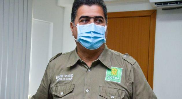 Prefeito adia retorno das aulas presenciais para outubro em Cuiabá (Crédito: Davi Valle - Ascom/Cuiabá)