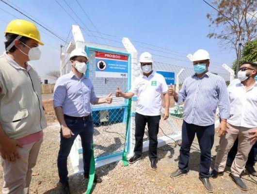 Emanuel entrega obra de R$ 1 milhão para abastecimento de água do Distrito do Sucuri (Crédito: Luiz Alves - Ascom/Cuiabá)