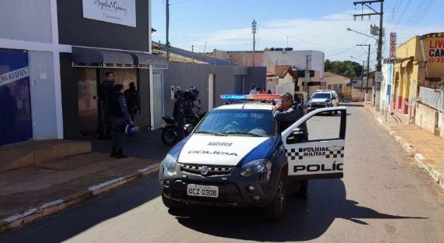 Família é mantida refém durante tentativa de roubo em cidade de MT (Crédito: Assessoria - PM/MT)