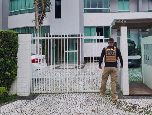 Polícia prende golpistas de site de compras e  mansão é confiscada em Mato Grosso (Crédito: Assessoria - PJC)