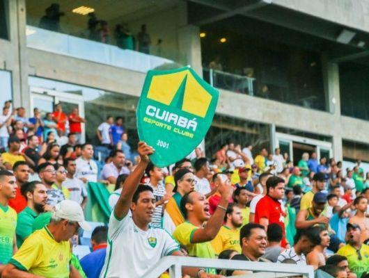 CBF autoriza retorno de torcedores em jogos na  Arena Pantanal, em Cuiabá (Crédito: Assessoria)