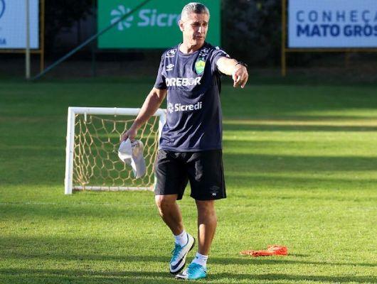 Jorginho estreia nesta quarta-feira (07) no jogo entre Cuiabá e Bragantino (Crédito: Assessoria - Cuiabá Esporte Clube)