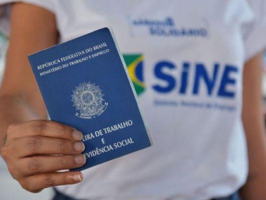 Sine oferece 127 vagas de emprego; ajudante de carga e descarga e também de obras são destaque (Crédito: Jana Pessôa - Setasc/MT)