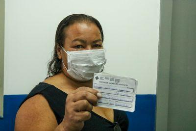 Chapada dos Guimarães vacina pessoas com 40 e 41 anos nesta quinta-feira (29)