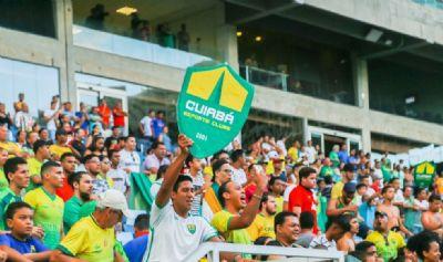 CBF autoriza retorno de torcedores em jogos na  Arena Pantanal, em Cuiabá