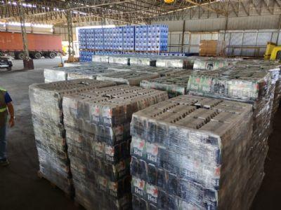 Sefaz apreende duas cargas irregulares de cervejas avaliadas em quase R$ 1 milhão