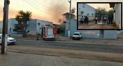 Ar-condicionado explode e causa incêndio em hospital lotado de pacientes em MT
