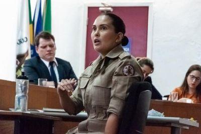 Justiça condena bombeira Ledur a 1 ano de prisão por maus-tratos em treinamento