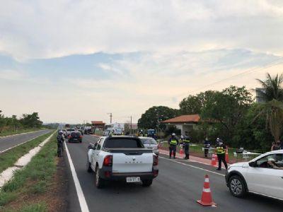 Seis motoristas são presos por embriaguez na volta de Chapada dos Guimarães