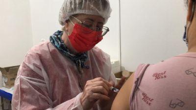 Quase 10 mil pessoas já receberam pelo menos uma dose das vacinas contra a Covid-19 em Chapada dos Guimarães