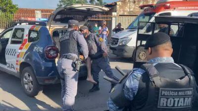 Dupla invade casa em Cuiabá e reage a abordagem policial; um morreu no confronto