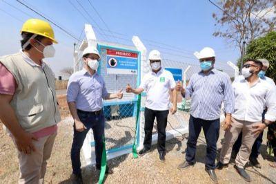 Emanuel entrega obra de R$ 1 milhão para abastecimento de água do Distrito do Sucuri