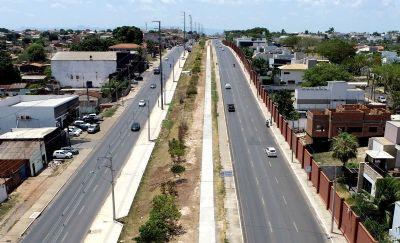 Cuiabá anuncia construção de ciclovia e vagas de estacionamento na 'Avenida dos Trabalhadores'