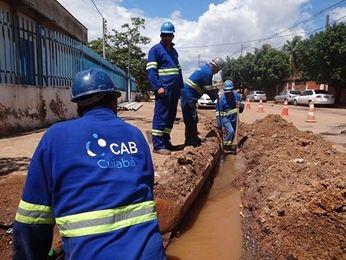 Bairros nobres ficam sem abastecimento de água na região central de Cuiabá