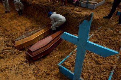 Em 24h, Mato Grosso registra mais 26 mortes e 1,6 mil casos de Covid-19