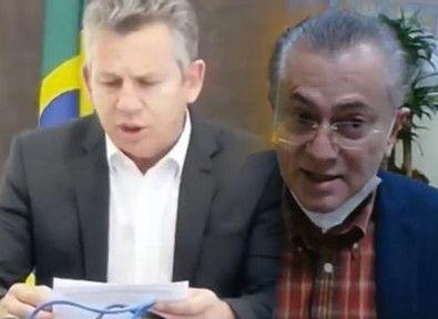 Governador e desembargador protagonizam discussão acalorada em live
