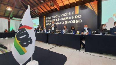 Emanuel Pinheiro falta em grande encontro de prefeitos promovido pelo MDB em Chapada dos Guimarães